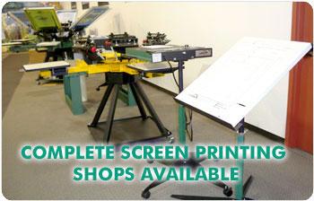 Screen Printing Equipment & Supplies - Digital Printing - Graphic