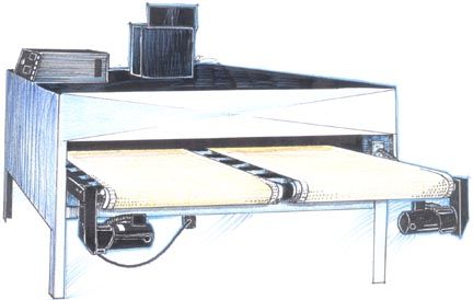 Electric Conveyor Ovens / Dryers - Hix Corporation - Cosmex